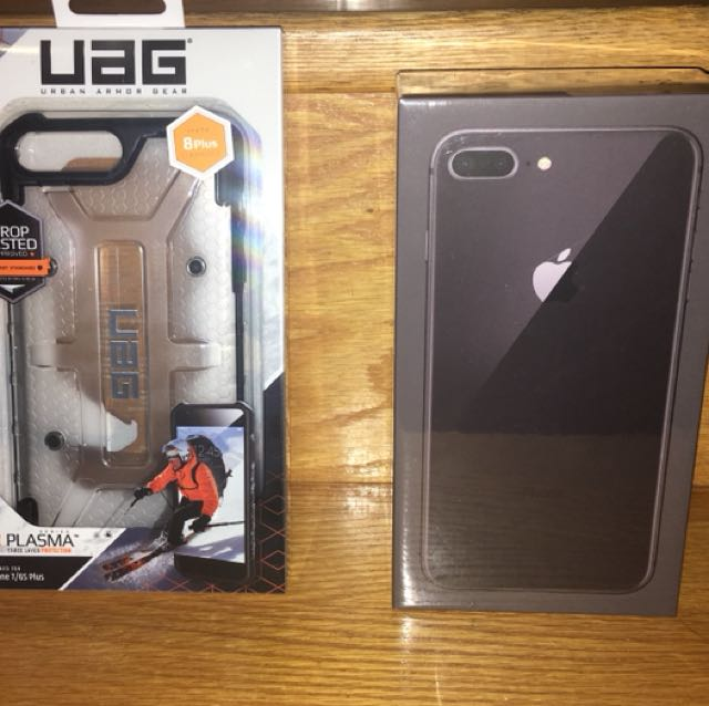 Brand new iPhone 8 Plus 256GB with UGA case