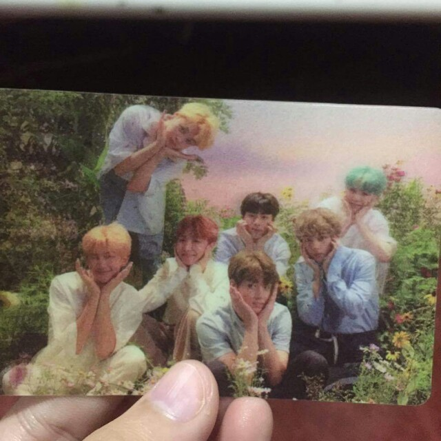 bts love yourself special lenticular photocard 1510656685 f53af046
