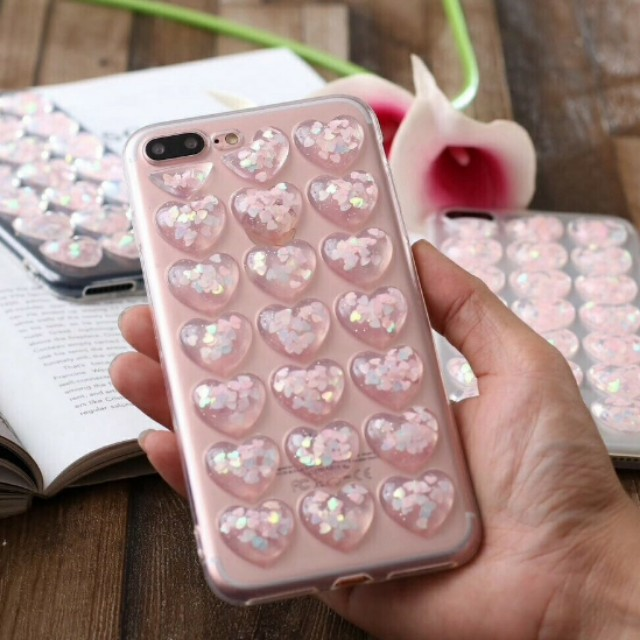 Case iphone icy heart