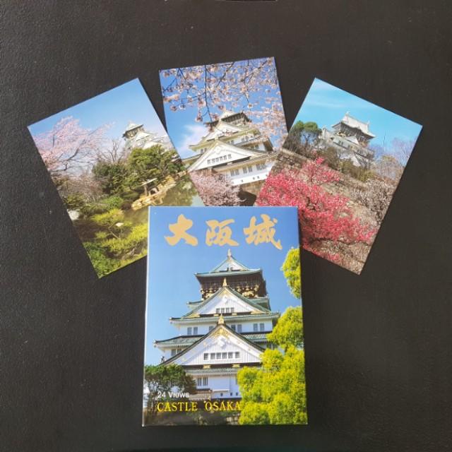 Castle Osaka Postcards