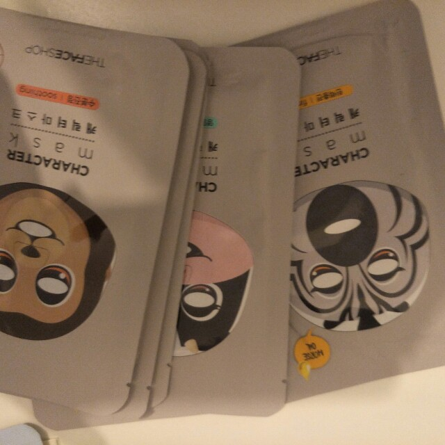 Character face mask