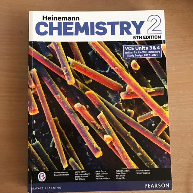 Chemistry Unit 3/4 Textbook VCE