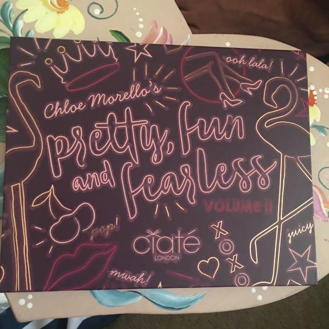Ciate Pretty, fun and fearless palette