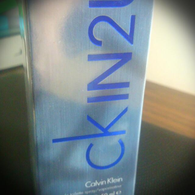 Ck IN2U Calvin Klein Eau De Toilette Spray 1.7 FL OZ 50ml