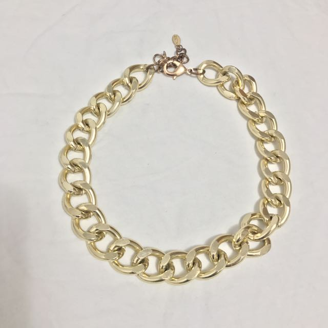 Classic Gold Tone Chain Necklace