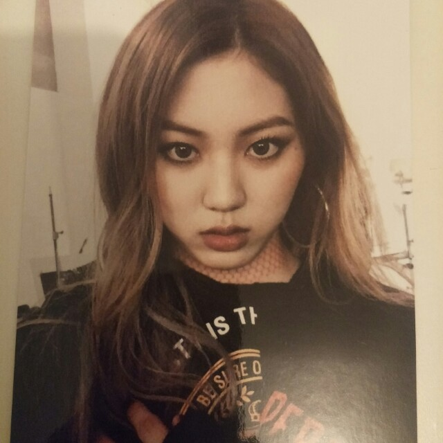 Clc  eunbin photocard kpop