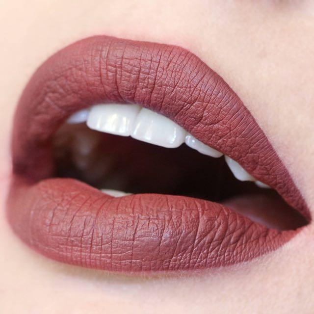 Colourpop ultra matte lip Tulle 液態 霧面 唇釉