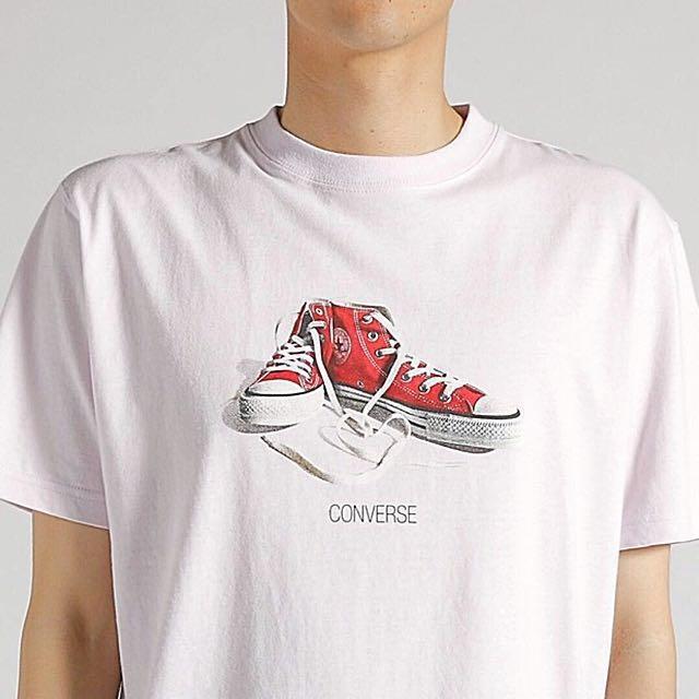 CONVERSE 純棉短袖T恤 原價990元 #手滑買太多