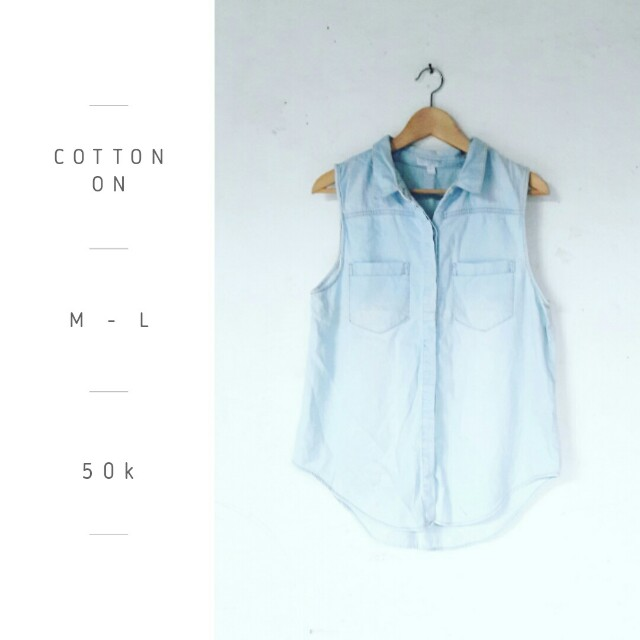 Cotton On Jeans Top