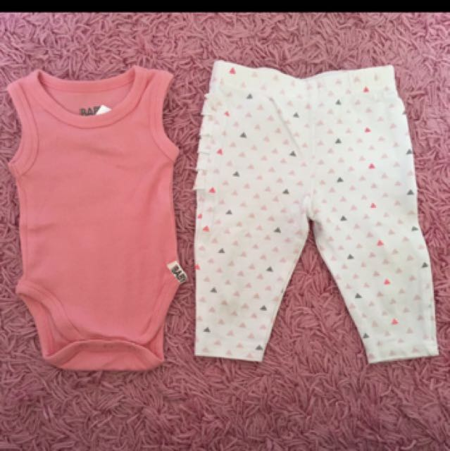 COTTON ON Onesie and Leggings Set