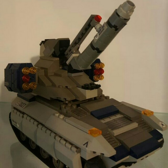 Custom lego compatible artillery assault mecha military army tank ...