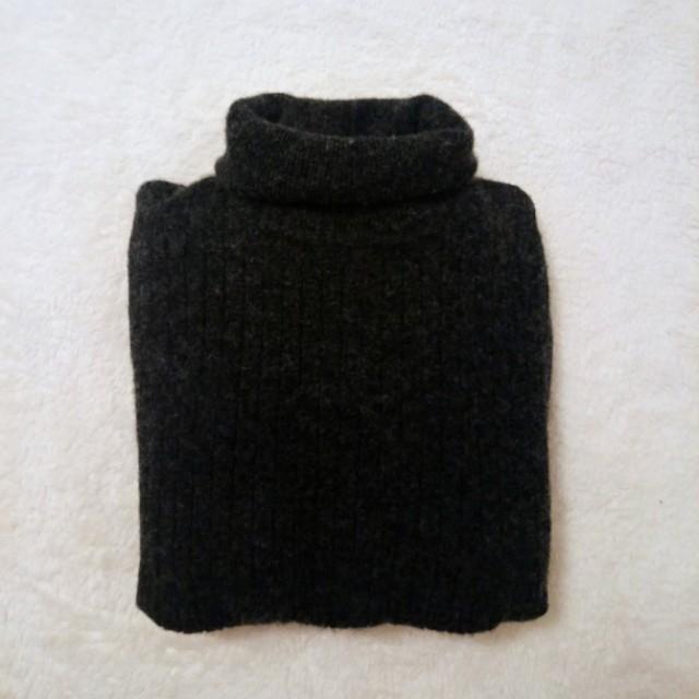 🎁 Wool grey turtleneck