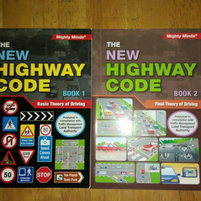 Driving Theory Test Books - Basic & Advance