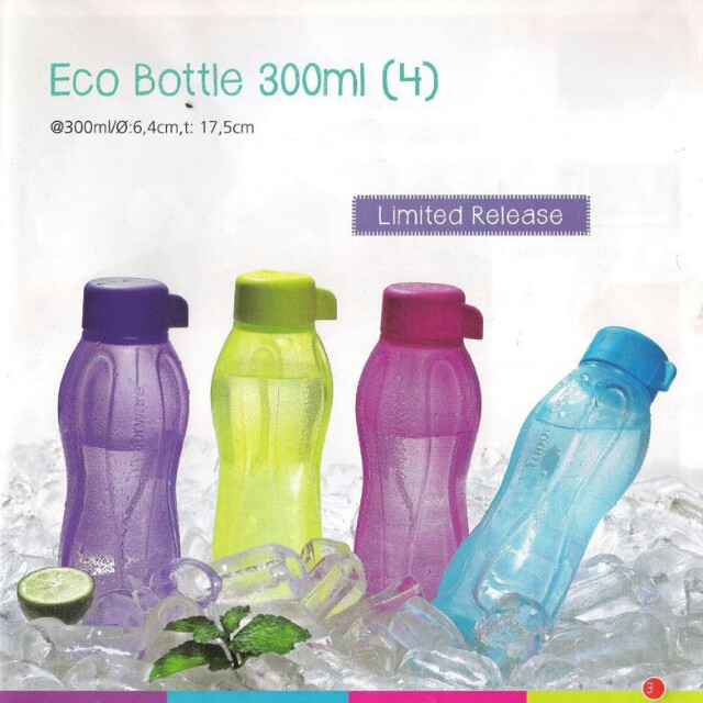 Eco 310ml tupperware 4pc