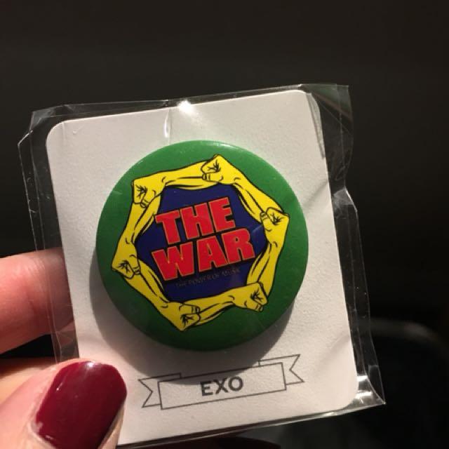 EXO Power Version Pin Button