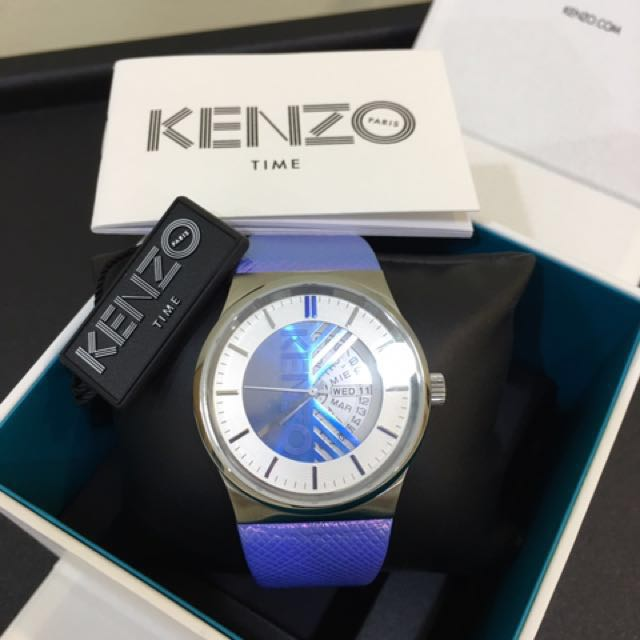 FAST DEAL!! Kenzo Dix Huit Watch Authentic
