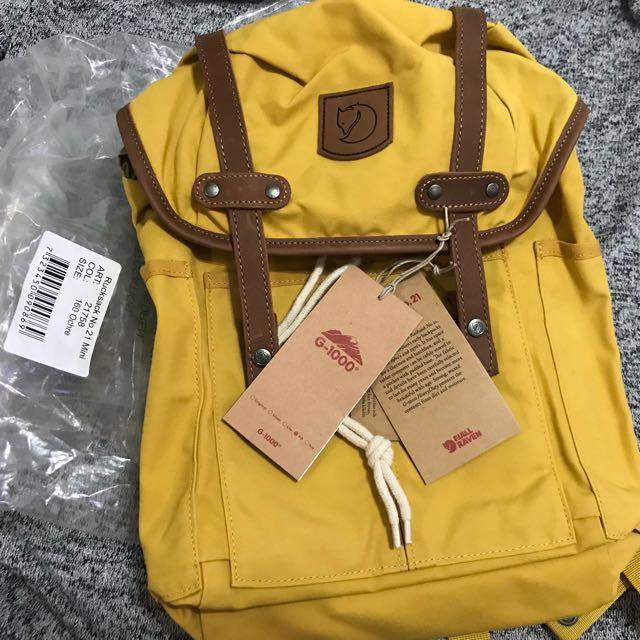 Fjallraven No 21 Mini Rucksack