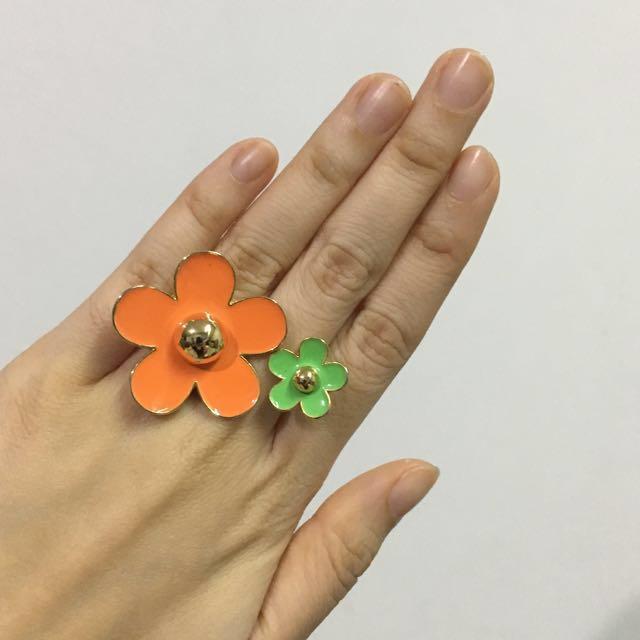 Flower Power Ring II
