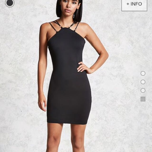 Forever 21 contemporary strappy ring dress