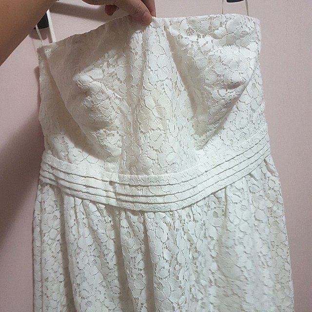 Forever 21 lace tube dress 2xl