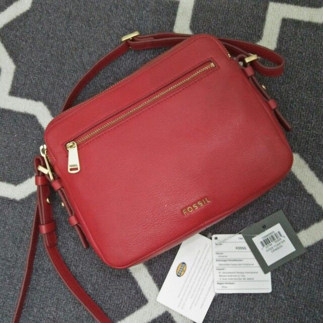 Fossil Pepper Red