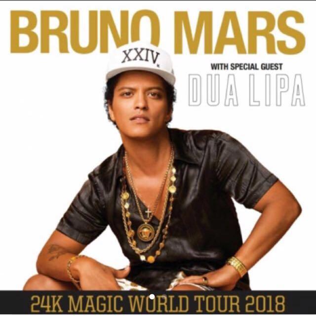 GA Bruno Mars Ticket