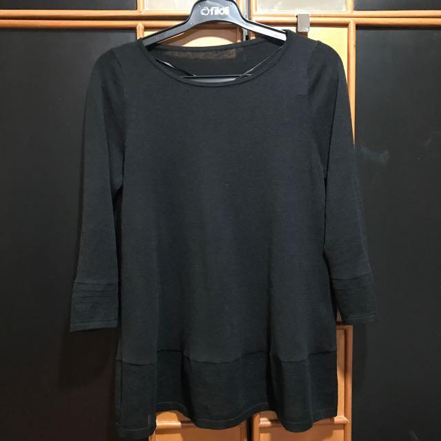 Giordano ladies knit black
