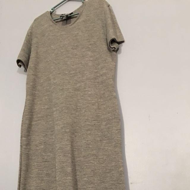 Gray maxi dress XL
