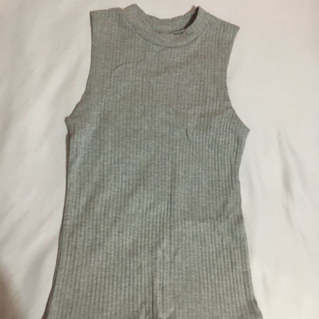 Grey Top (Size 10)