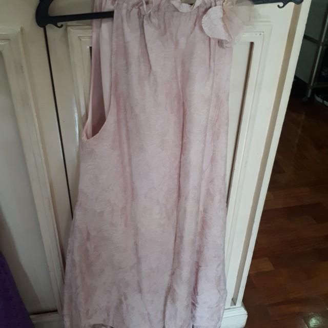 Halter pink dress by rajo laurel