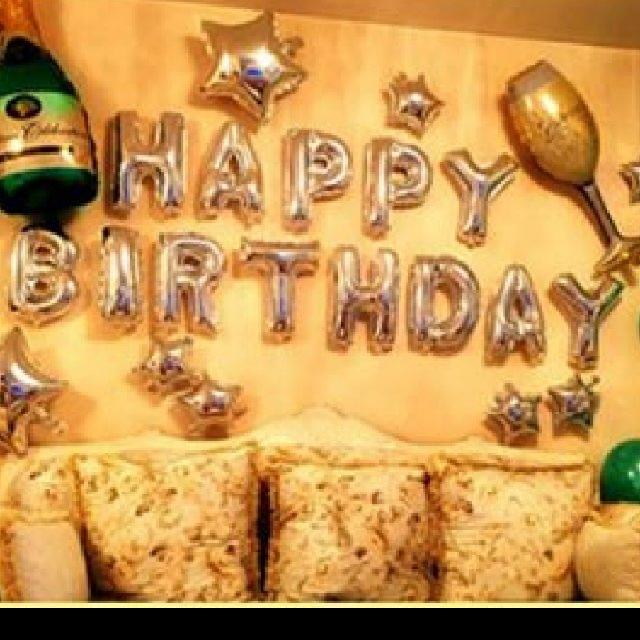 Happy Birthday 氣球