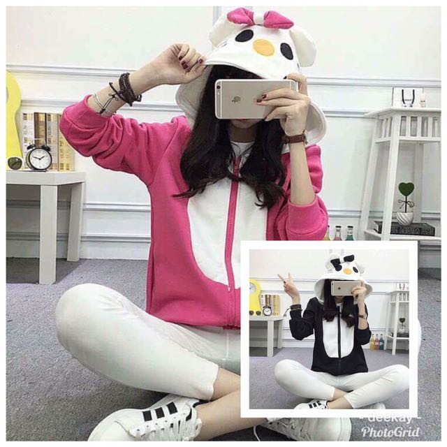 2db67dd77 Hello Kitty Hoodie Jacket!!, Women's Fashion, Clothes, Outerwear on ...