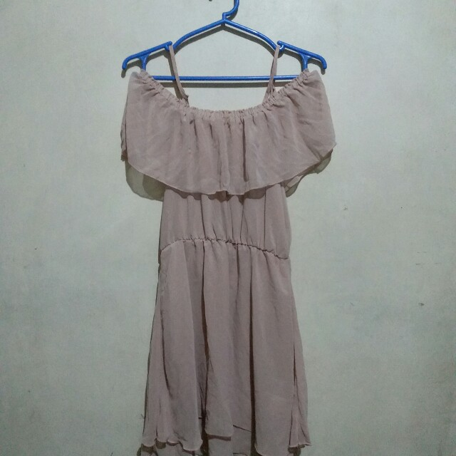 H&M Dusty Rose Dress