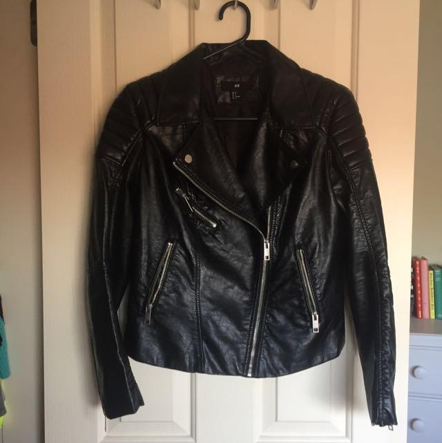 HnM Leather Jacket