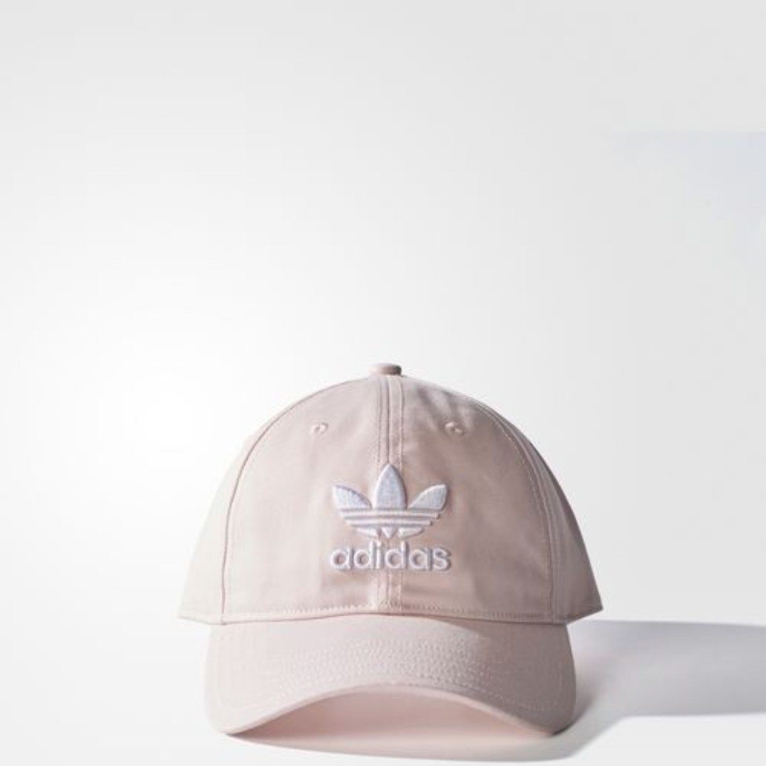 🔥In Stock🔥 Adidas Trefoil Classic Cap (Pink   White) 04f1cfe3307