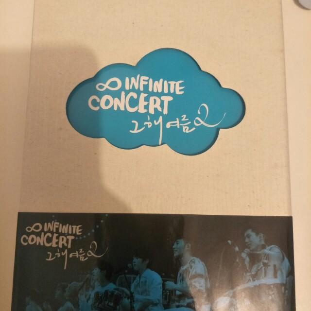 Infinate concert dvd