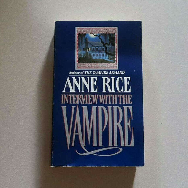 Interview With the Vampire Anne Rice