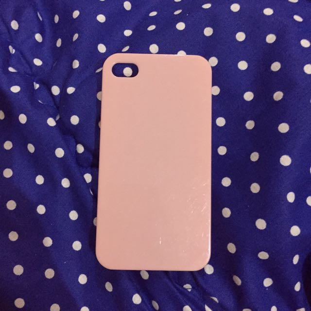 Iphone 4/4s Case - Pink Nude