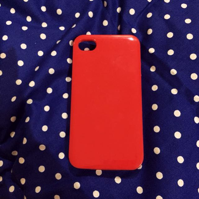 Iphone 4/4s Case Polos - Merah