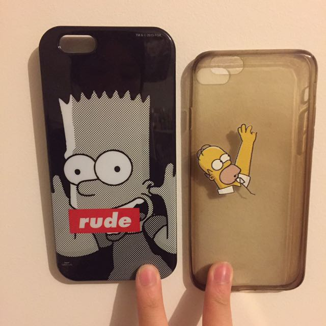 IPHONE 6/6S PHONE CASE SIMPSONS BART HOMER