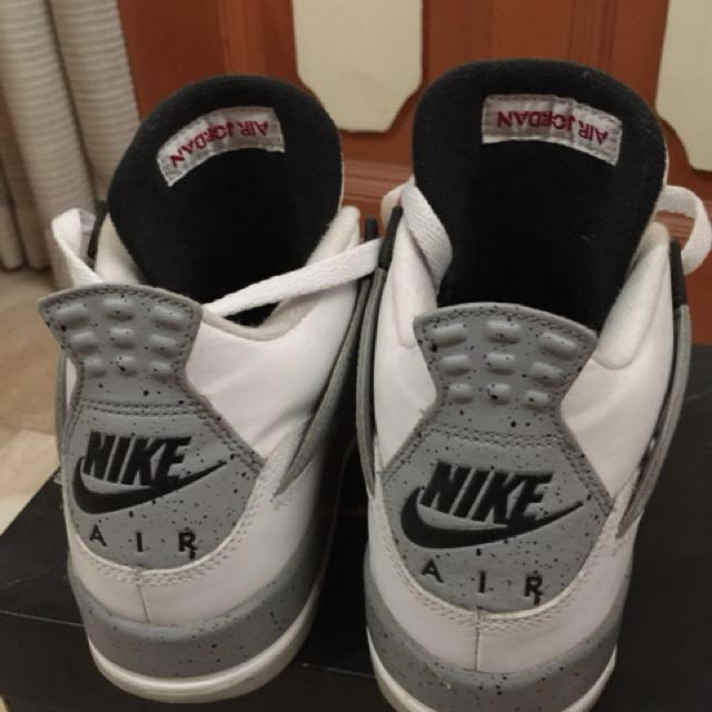 dca61ea2f29891 Jordan 4 white cement