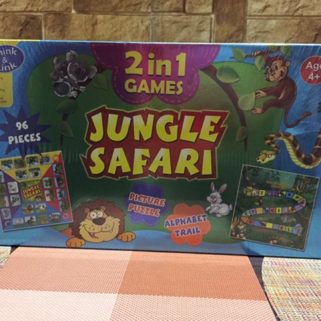 Jungle Safari puzzle toy