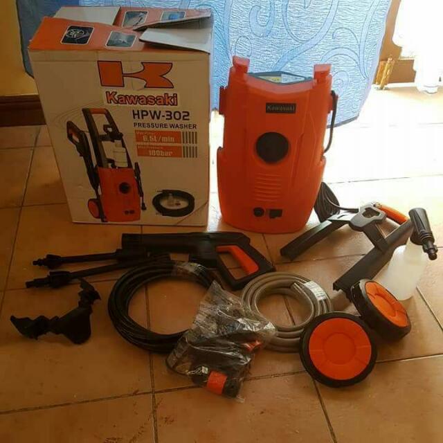 Kawasaki Portable Pressure Washer