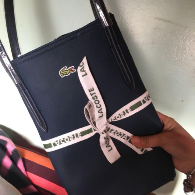 Lacoste horizontal Tote Bag