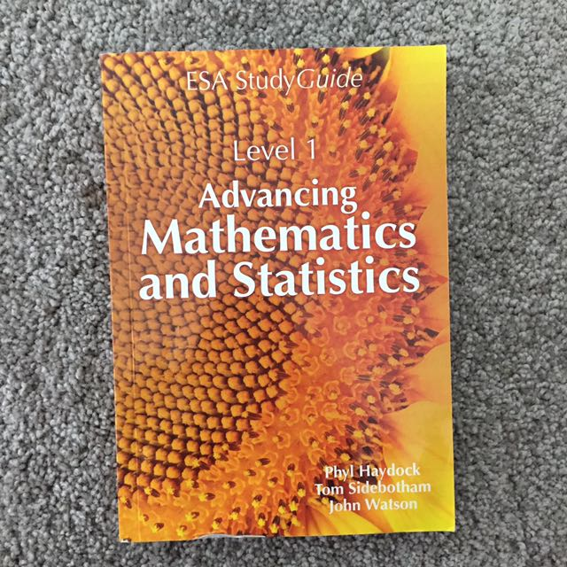 Level 1 maths and stats text book
