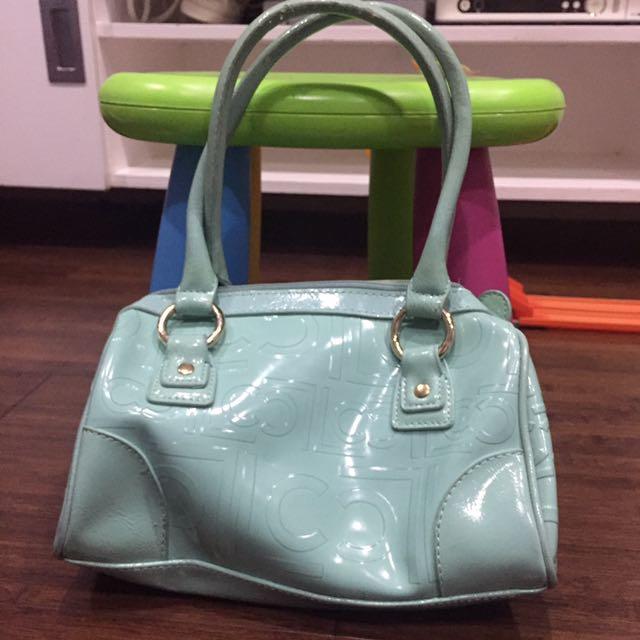 Liz Claiborne mint green bag
