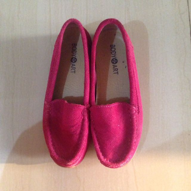 Loafer in Gamuza Pink