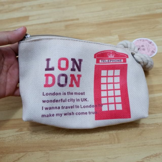 London purse dompet clutch