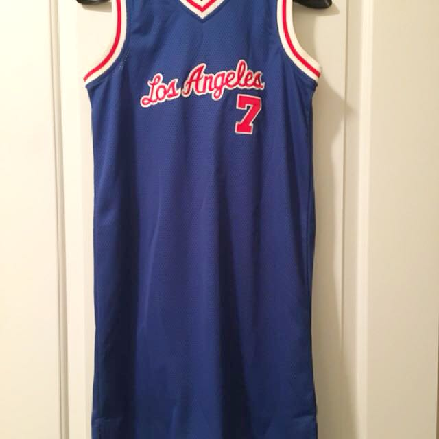 Los Angeles Lakers Retro Jersey Dress - Size Ladies Small