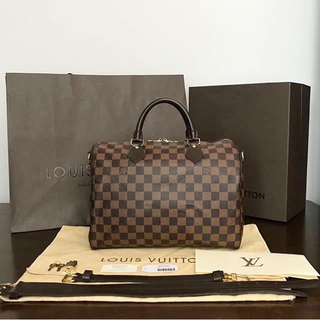 088921d17c4c Louis Vuitton LV Speedy bandouliere 30 bag